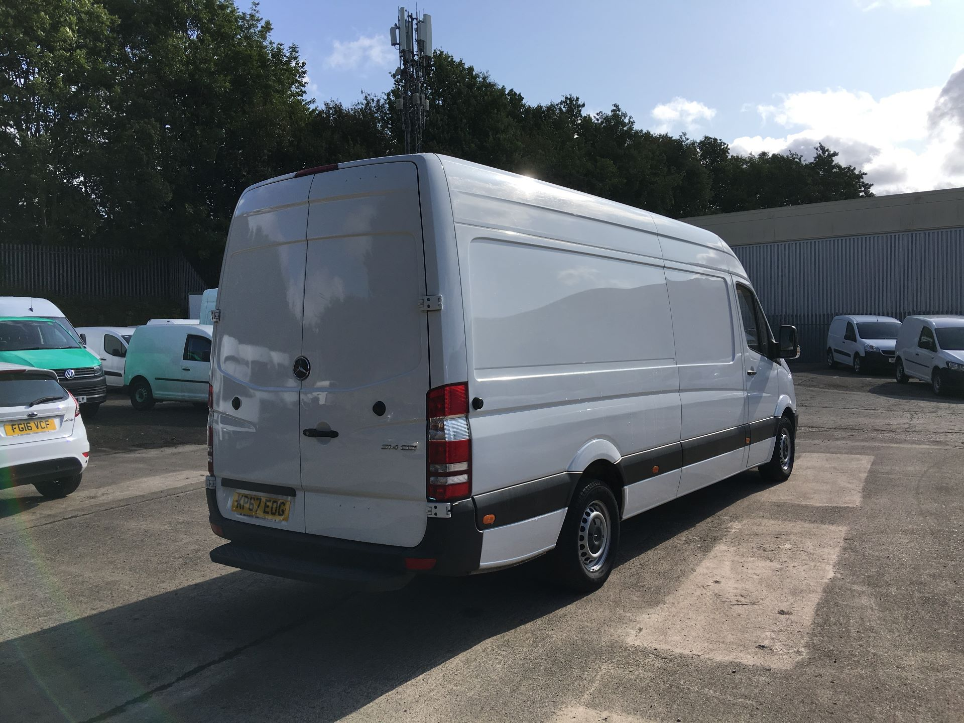 2017 Mercedes-Benz Sprinter 314 CDI LWB HIGH ROOF VAN EURO 6 (KP67EOG) Image 10