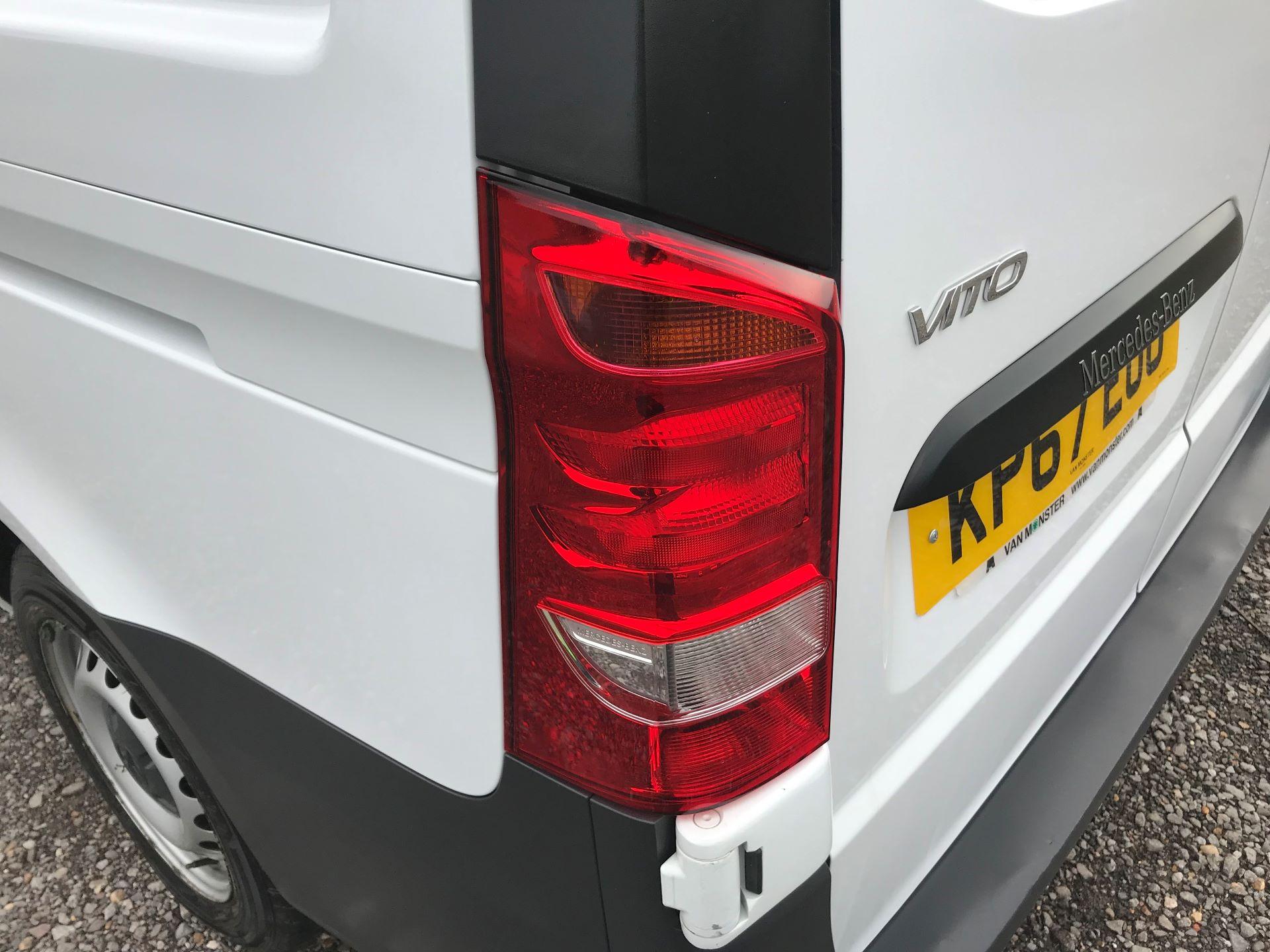2017 Mercedes-Benz Vito LONG 111CDI VAN EURO 5/6  (KP67EOO) Image 16