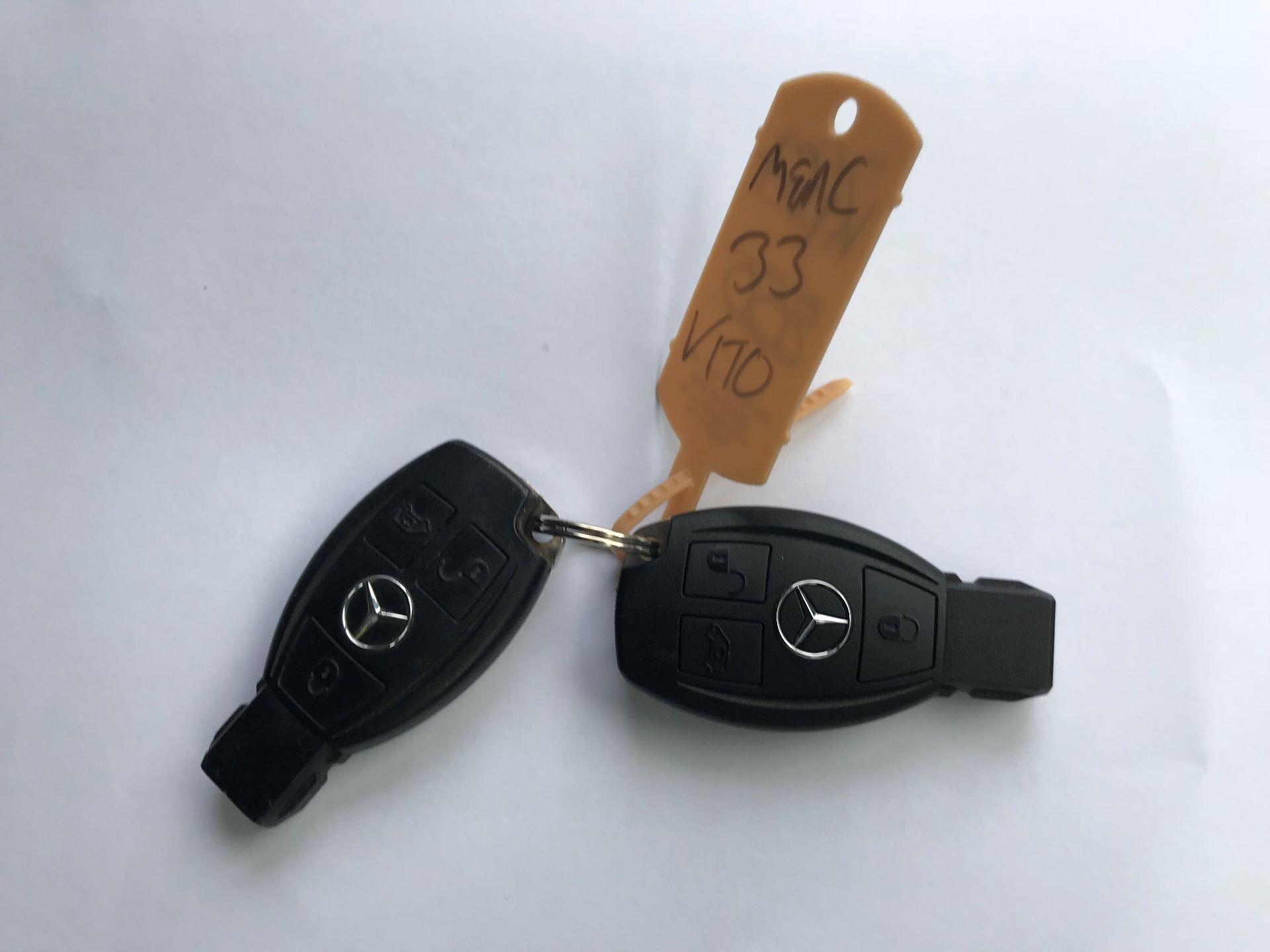 2017 Mercedes-Benz Vito LONG 111CDI VAN EURO 5/6  (KP67EOO) Image 39