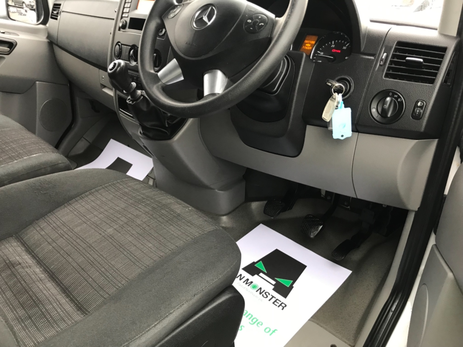 2017 Mercedes-Benz Sprinter  314 LWB H/R VAN EURO 6 (KP67EOZ) Image 13