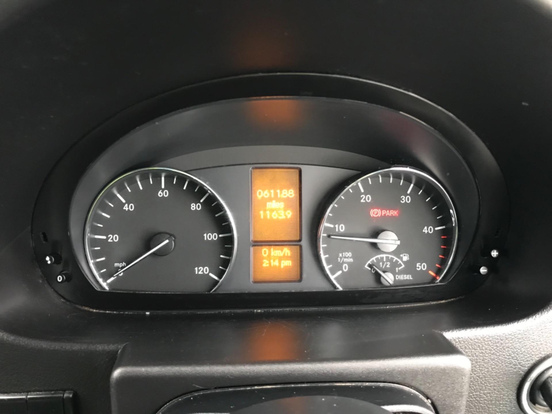 2017 Mercedes-Benz Sprinter  314 LWB H/R VAN EURO 6 (KP67EOZ) Image 11