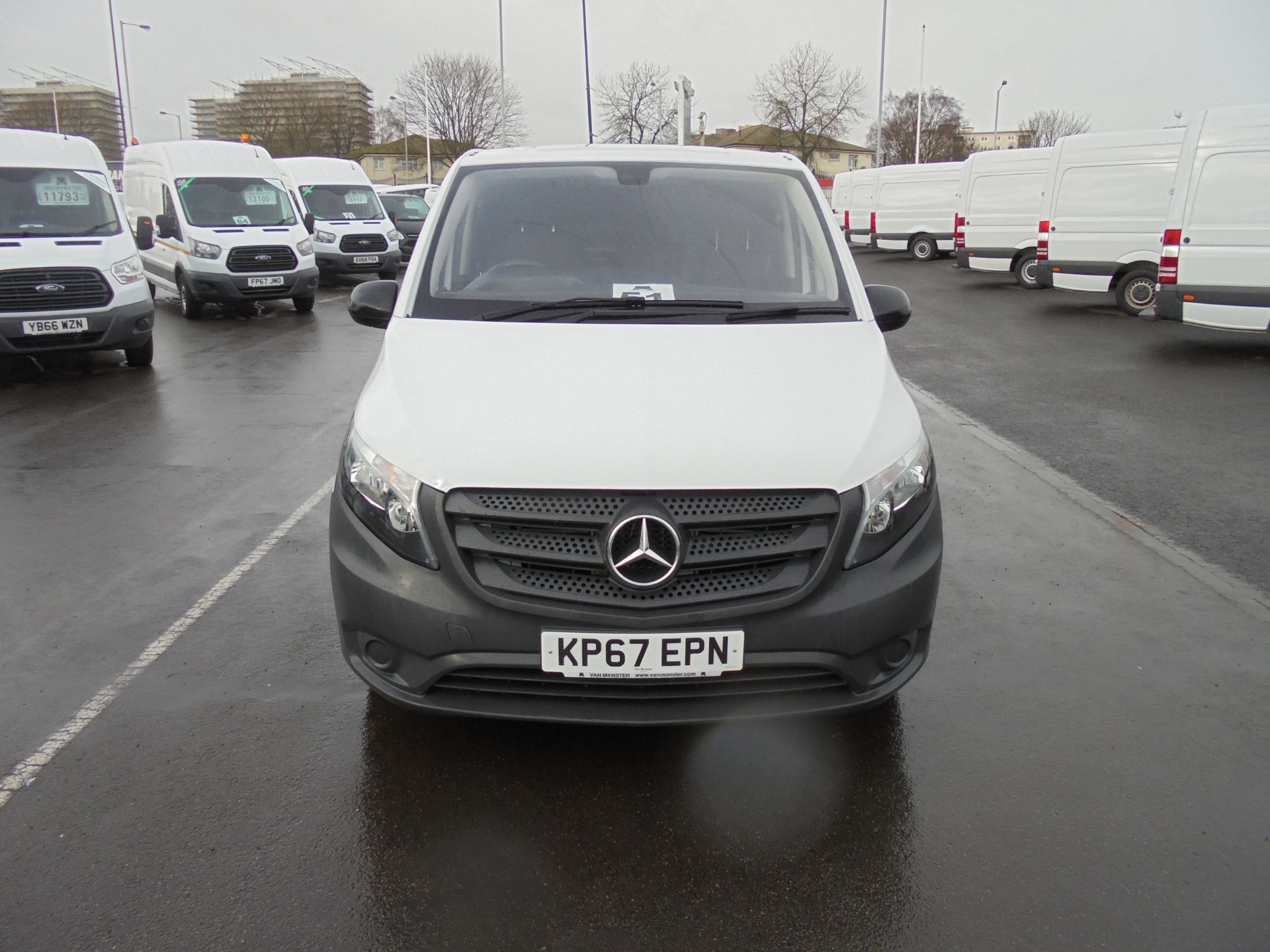 2017 Mercedes-Benz Vito 111Cdi Van (KP67EPN) Image 2