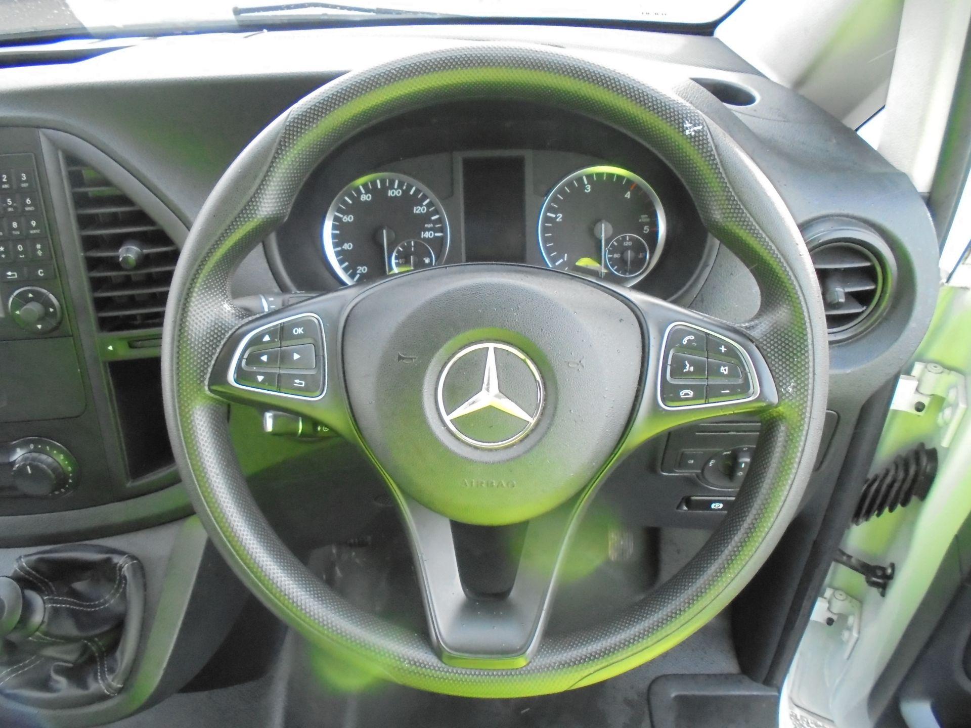 2017 Mercedes-Benz Vito 111Cdi Van (KP67EPN) Image 12