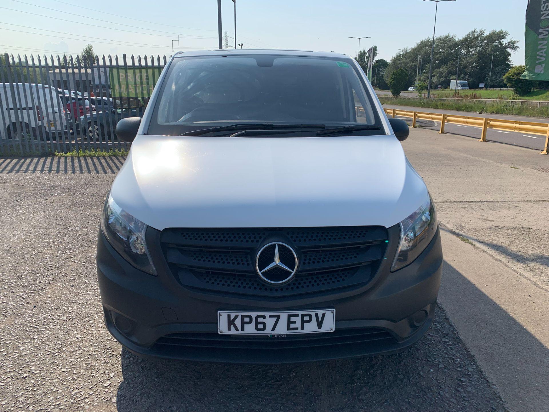 2017 Mercedes-Benz Vito 111Cdi Van (KP67EPV) Image 2