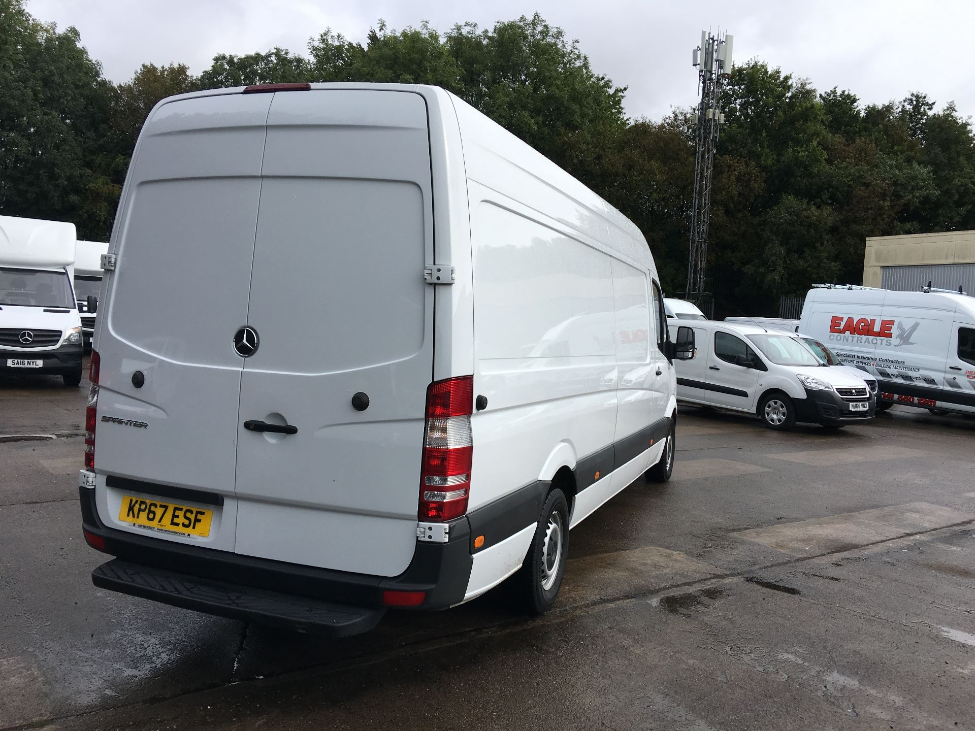 2017 Mercedes-Benz Sprinter 314 CDI LWB HIGH ROOF VAN EURO 6 (KP67ESF) Image 10