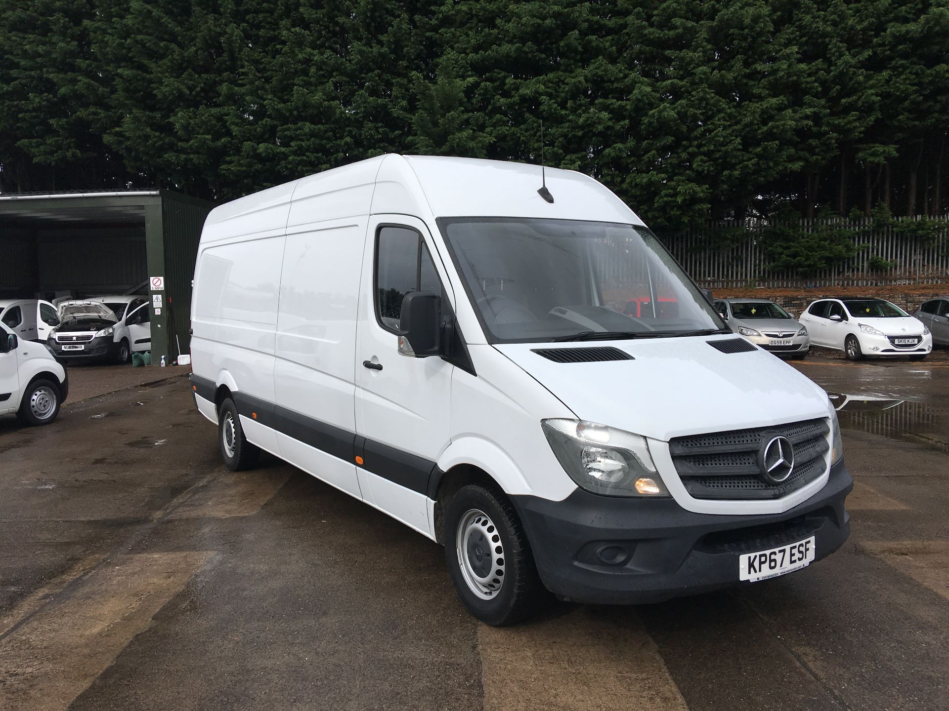 2017 Mercedes-Benz Sprinter 314 CDI LWB HIGH ROOF VAN EURO 6 (KP67ESF) Image 1