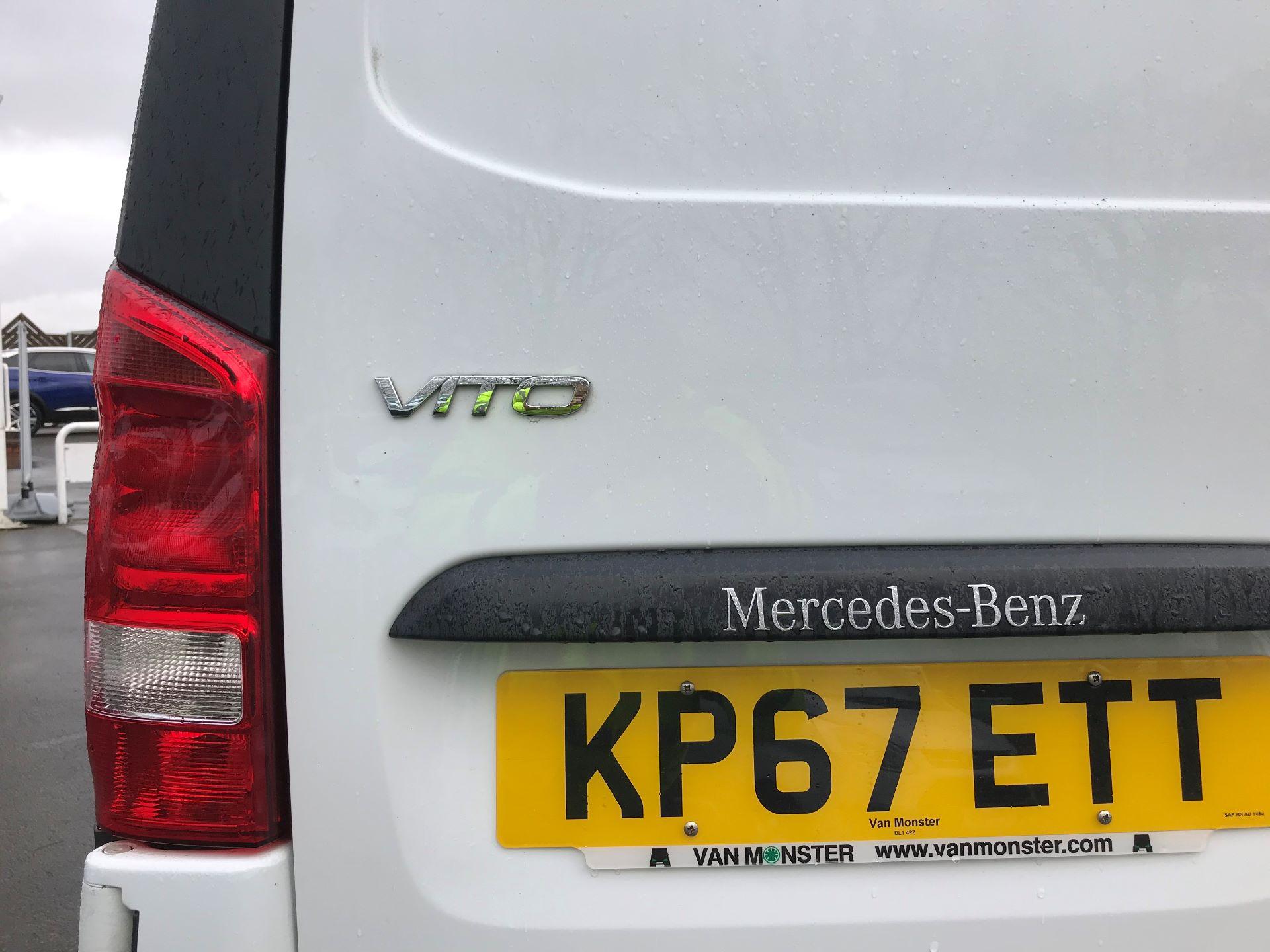 2017 Mercedes-Benz Vito LONG 111CDI VAN EURO 6  (KP67ETT) Image 14