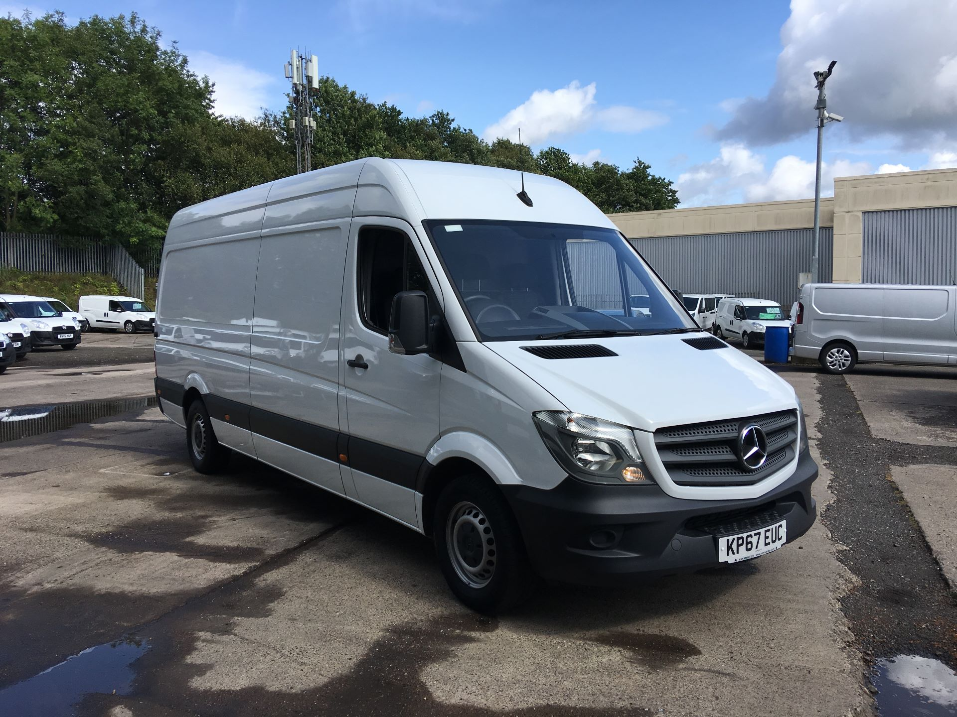 2017 Mercedes-Benz Sprinter 314 CDI LWB HIGH ROOF VAN EURO 6 (KP67EUC)