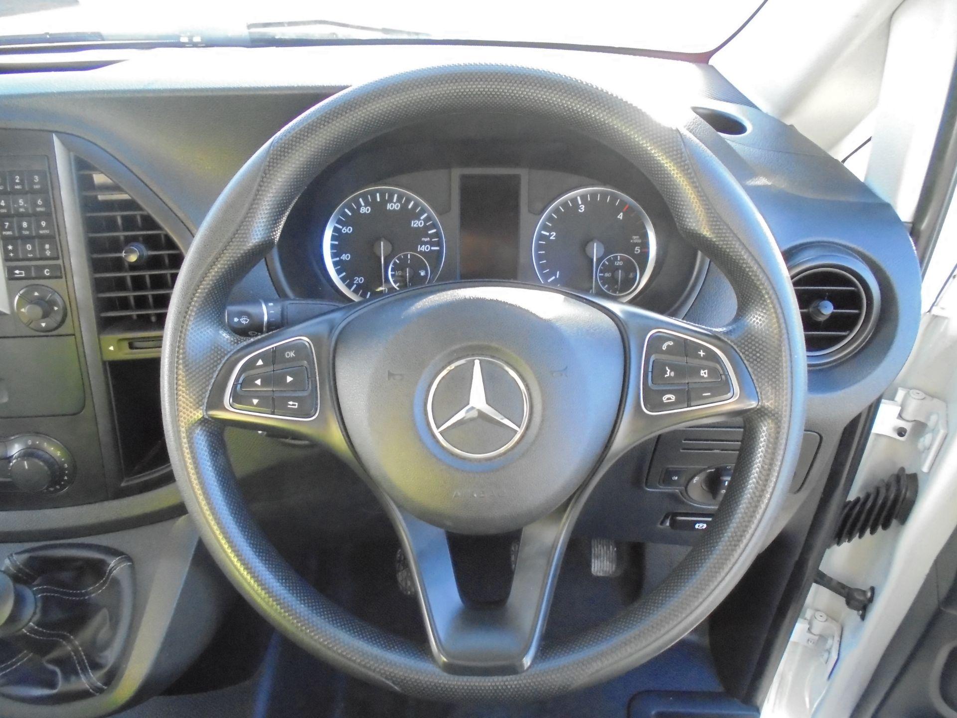 2017 Mercedes-Benz Vito 111Cdi Van (KP67EUO) Image 12