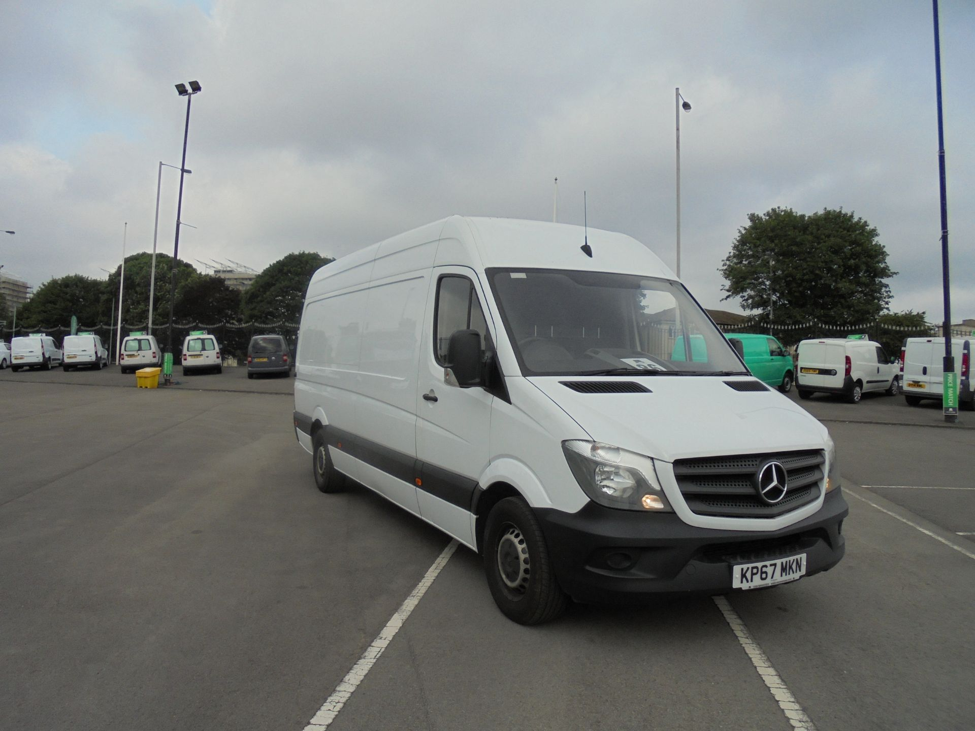 2017 Mercedes-Benz Sprinter 3.5T High Roof Van (KP67MKN)