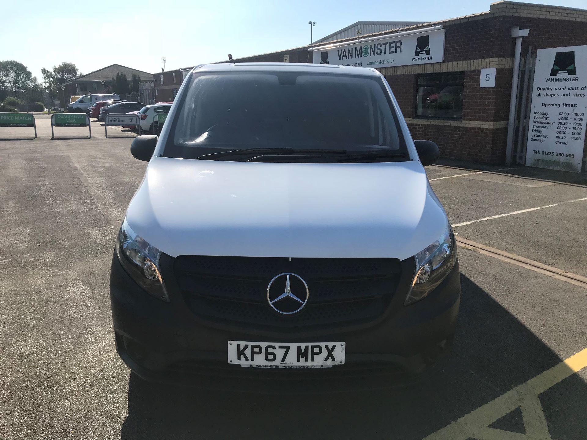 2017 Mercedes-Benz Vito 111Cdi Van (KP67MPX) Image 2