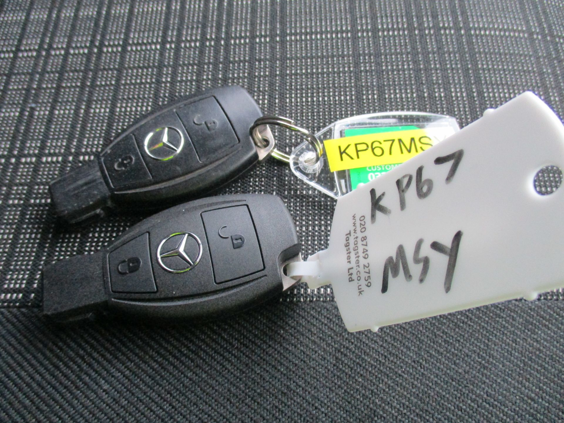 2017 Mercedes-Benz Sprinter 314 LWB H/R VAN EURO 6 (KP67MSY) Image 24