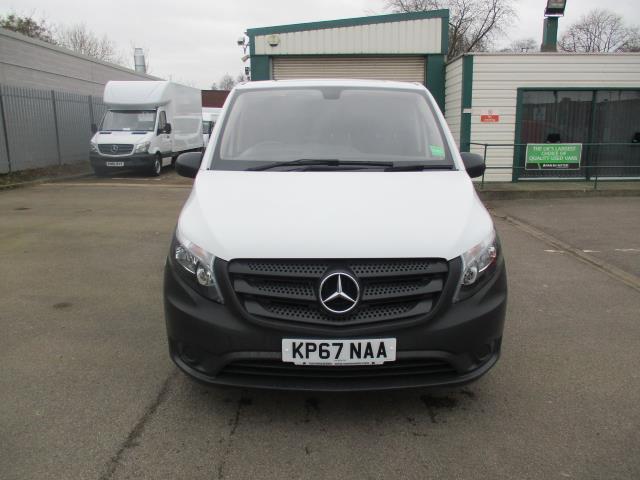 2017 Mercedes-Benz Vito LONG 111CDI VAN EURO 6  (KP67NAA) Image 2