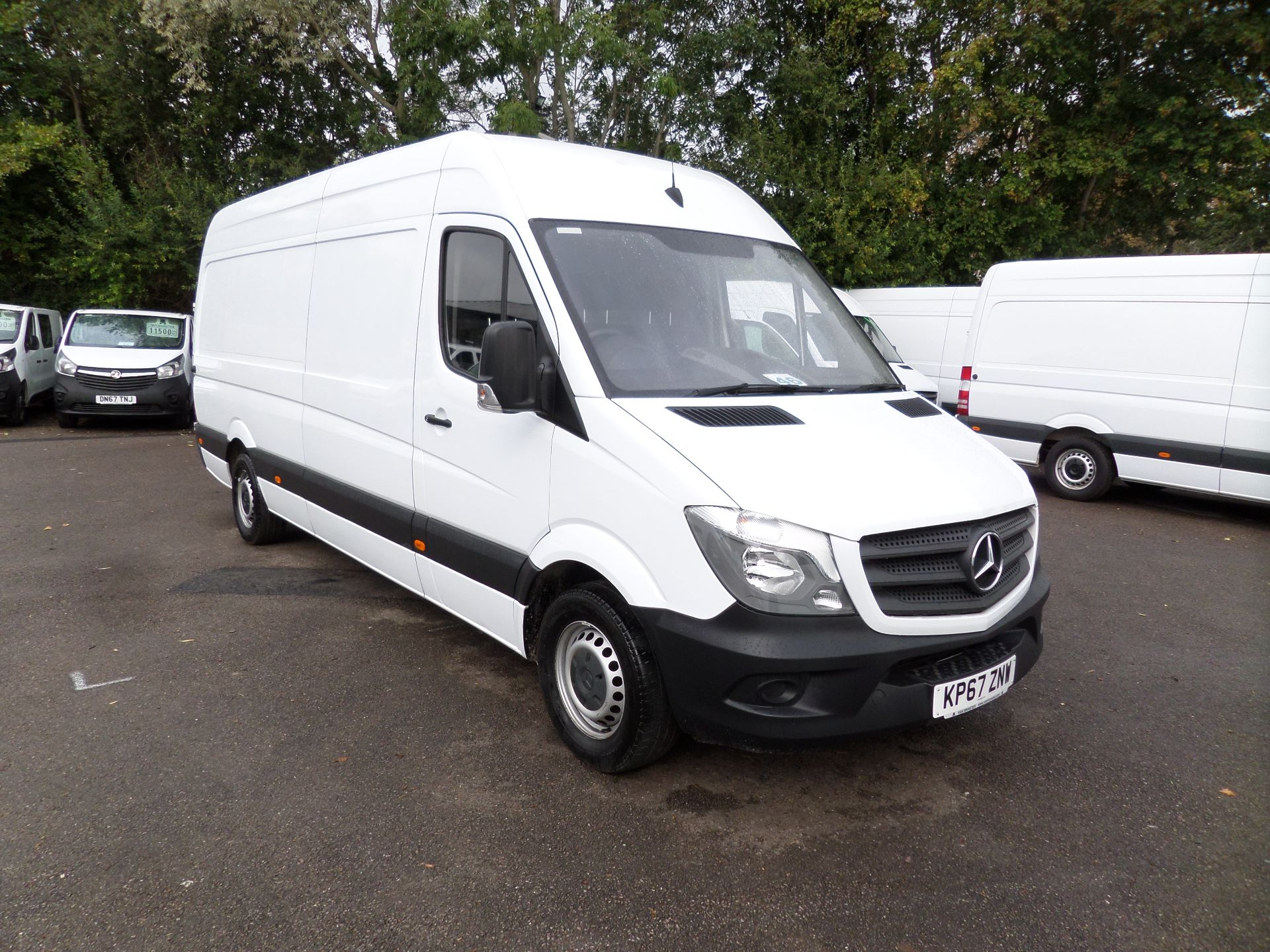 2017 Mercedes-Benz Sprinter 3.5T High Roof Van (KP67ZNW)
