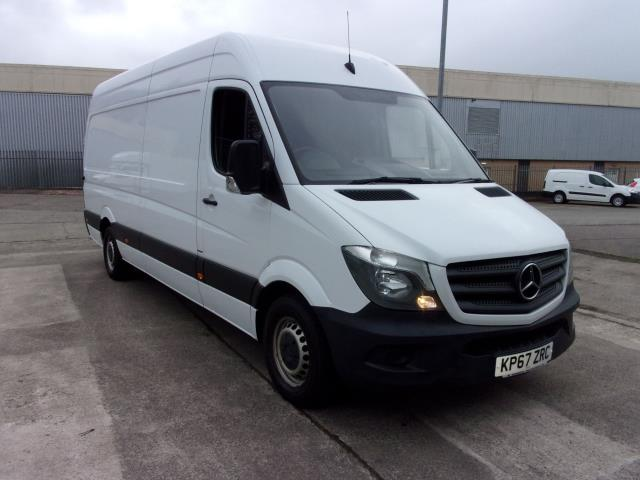 2017 Mercedes-Benz Sprinter 314CDi LWB High Roof Van (KP67ZRC)