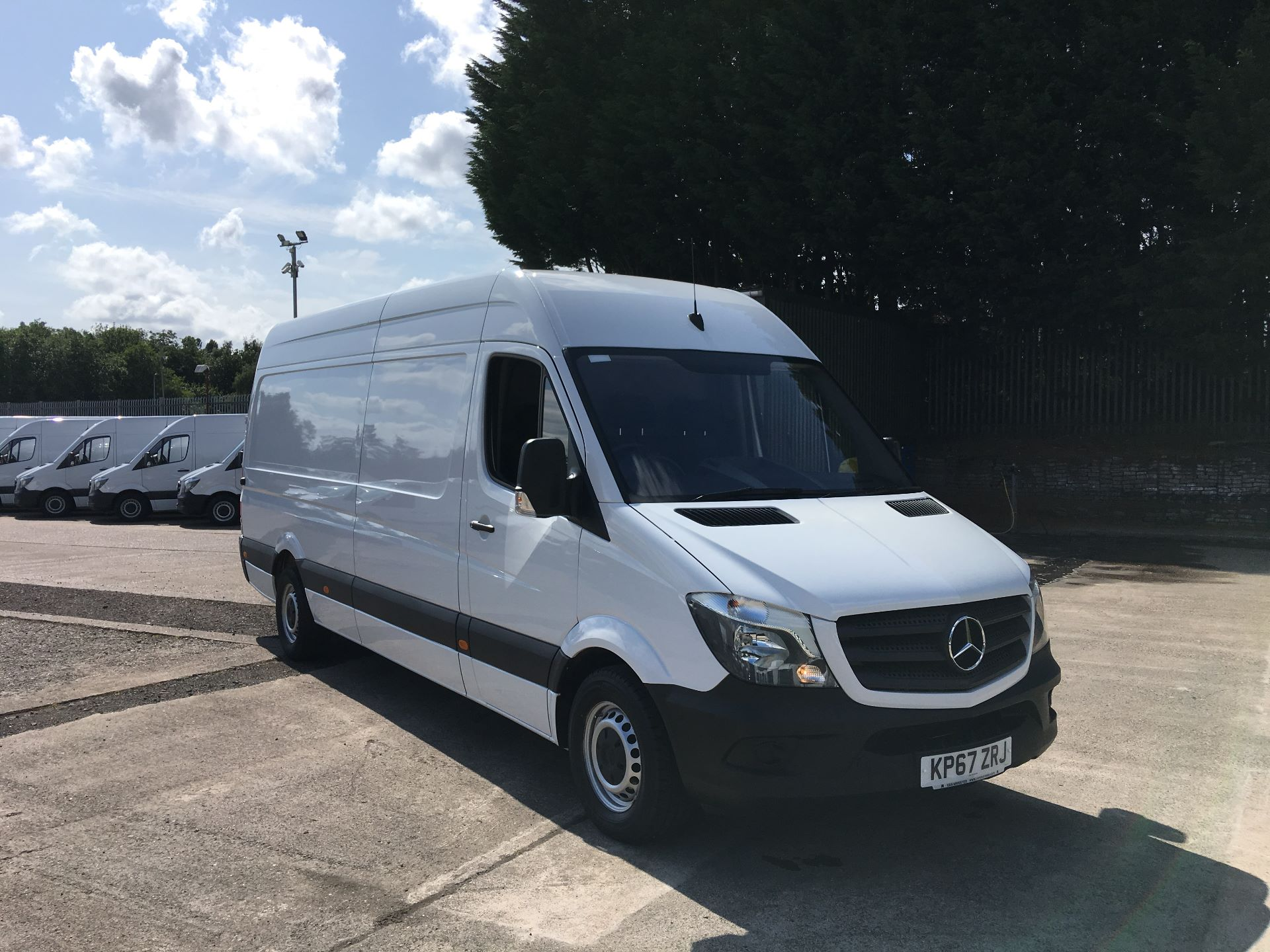 2017 Mercedes-Benz Sprinter 314 CDI LWB HIGH ROOF VAN EURO 6 (KP67ZRJ)