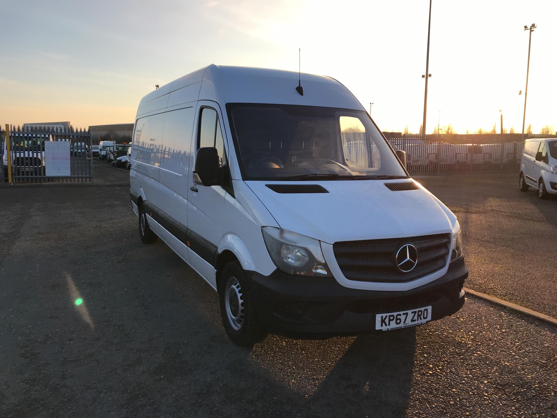 2017 Mercedes-Benz Sprinter  314 LWB 3.5T HIGH ROOF VAN EURO 6 (KP67ZRO) Image 1