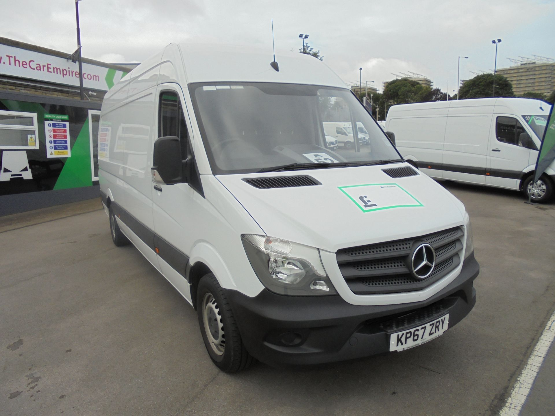 2017 Mercedes-Benz Sprinter 3.5T High Roof Van (KP67ZRY)