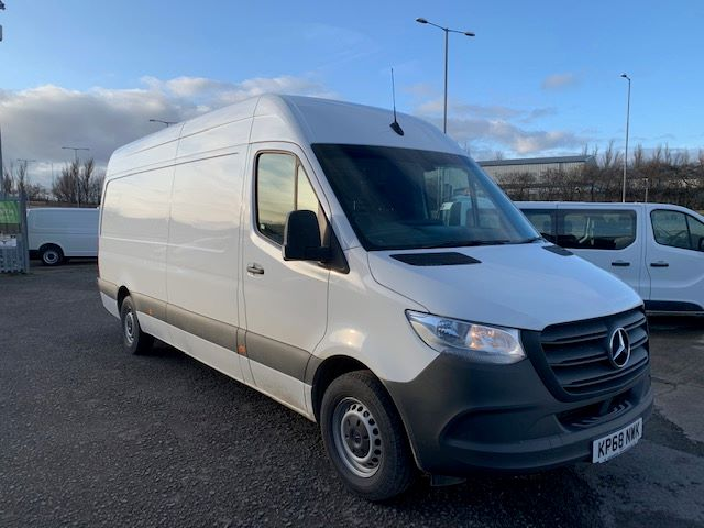 2018 Mercedes-Benz Sprinter 314 LWB HIGH ROOF VAN EURO 6 (KP68NWK)