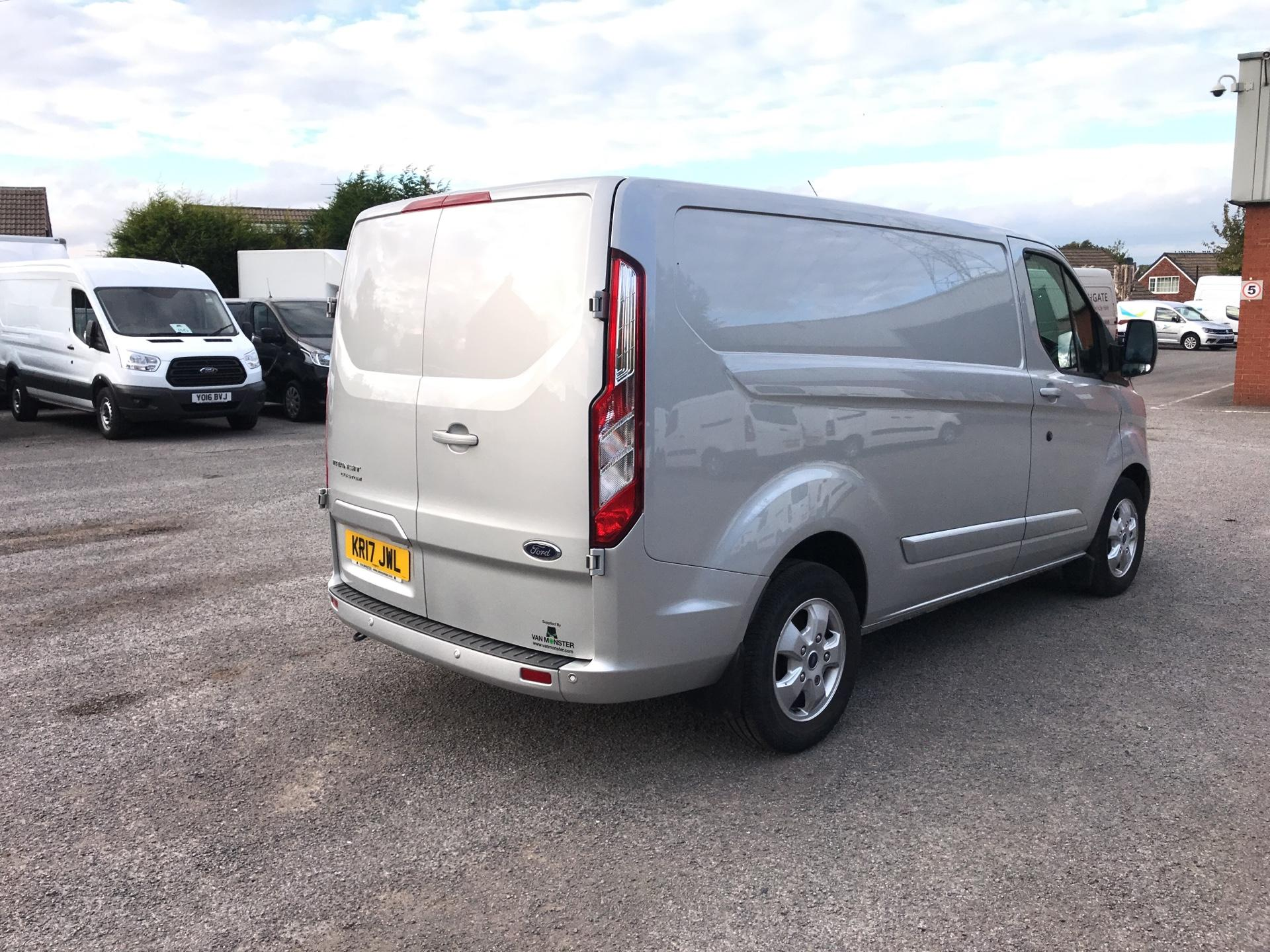 2017 Ford Transit Custom 270 L1 DIESEL FWD 2.0 TDCI 130PS LOW ROOF LIMITED VAN EURO 6 (KR17JWL) Image 3
