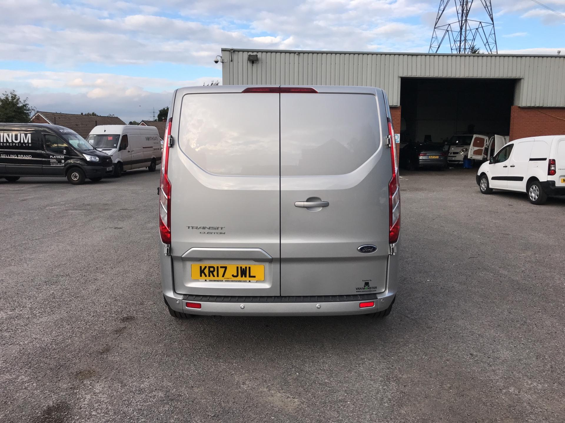 2017 Ford Transit Custom 270 L1 DIESEL FWD 2.0 TDCI 130PS LOW ROOF LIMITED VAN EURO 6 (KR17JWL) Image 4