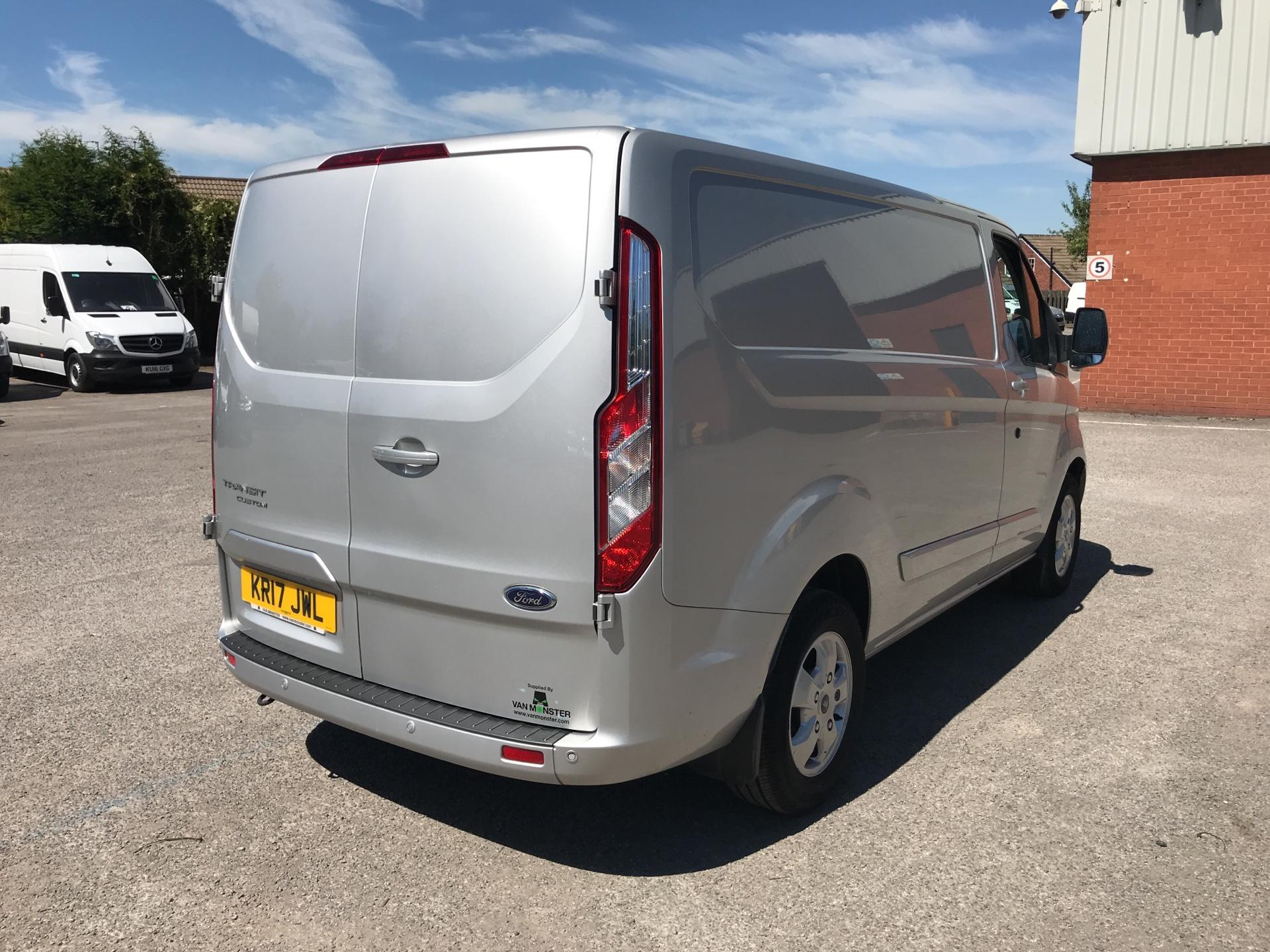 2017 Ford Transit Custom 2.0 Tdci 130Ps Low Roof Limited Van (KR17JWL) Image 3