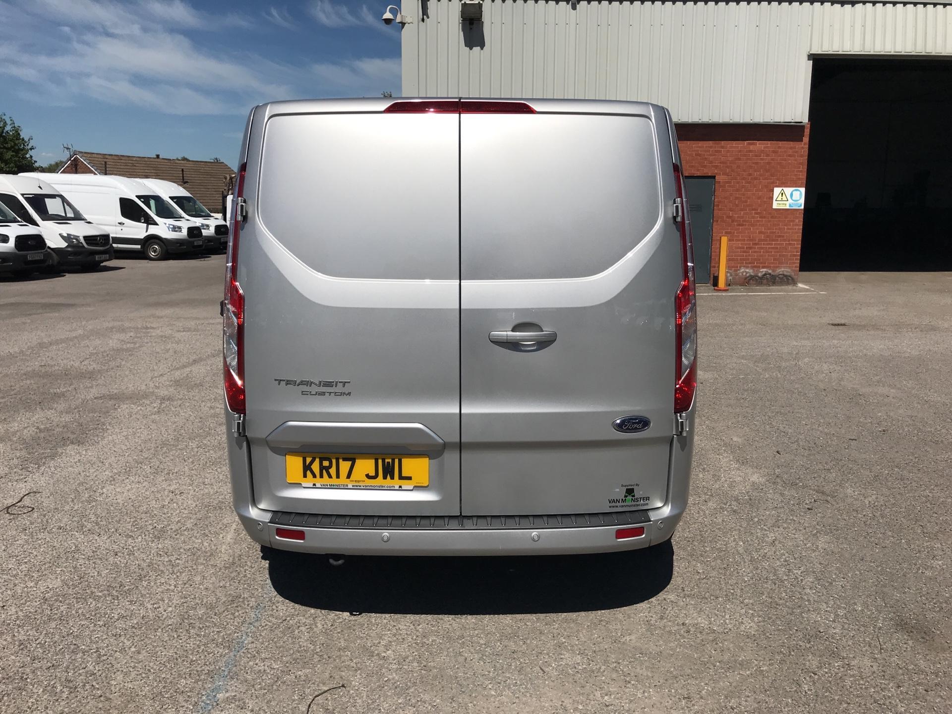2017 Ford Transit Custom 2.0 Tdci 130Ps Low Roof Limited Van (KR17JWL) Image 4