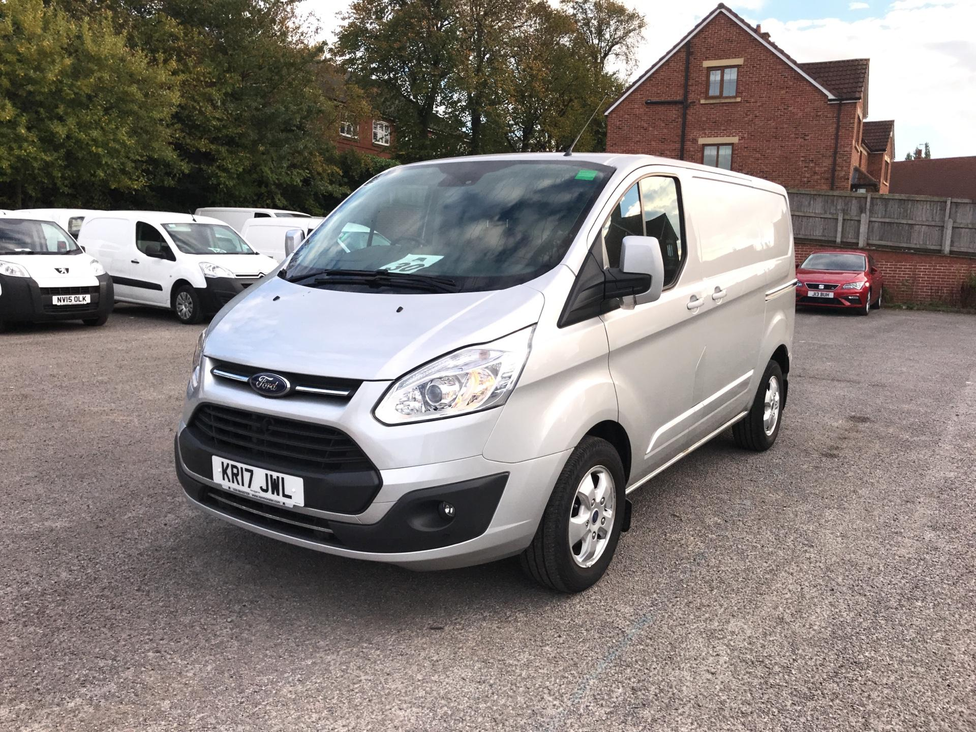 2017 Ford Transit Custom 270 L1 DIESEL FWD 2.0 TDCI 130PS LOW ROOF LIMITED VAN EURO 6 (KR17JWL) Image 7
