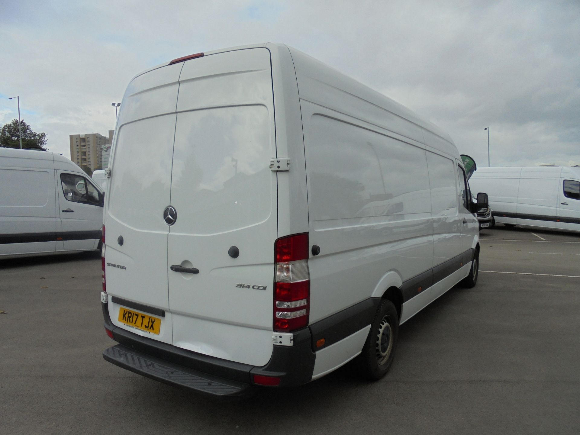 2017 Mercedes-Benz Sprinter 314 CDI 3.5T High Roof Van (KR17TJX) Thumbnail 7
