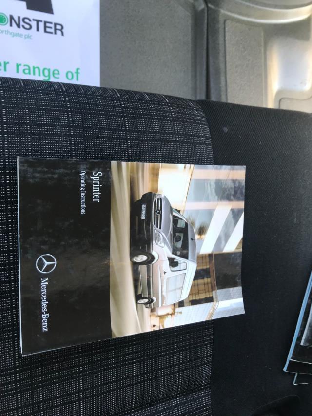 2017 Mercedes-Benz Sprinter  314 S/CAB TIPPER EURO 6 (KR17TUH) Image 48
