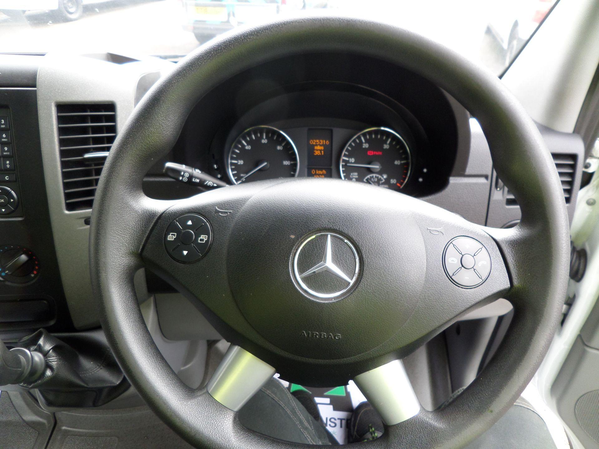 2017 Mercedes-Benz Sprinter 314 CDI Single Cab Dropside Euro 6 (KR17TWY) Image 13