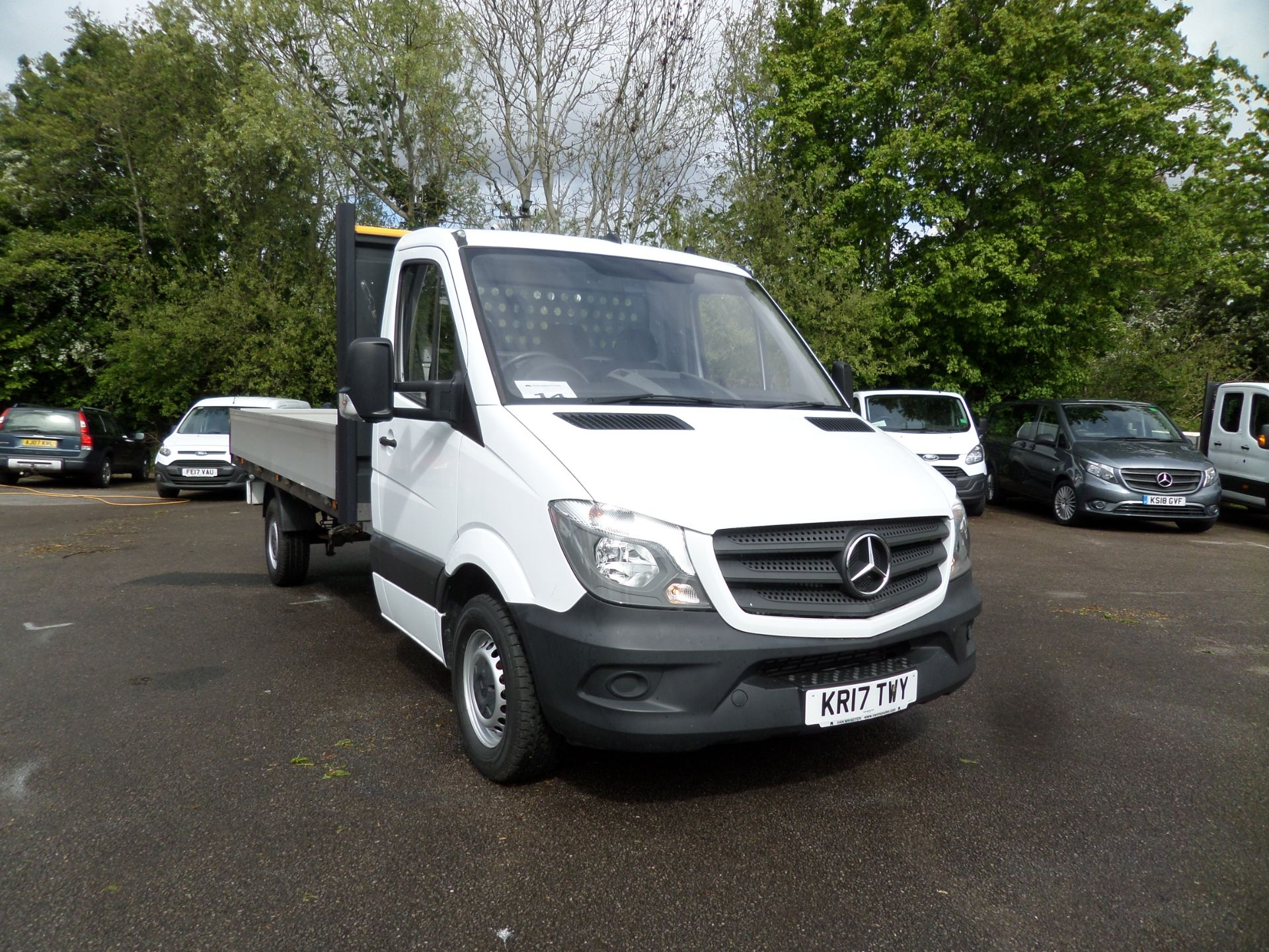 2017 Mercedes-Benz Sprinter 314 CDI Single Cab Dropside Euro 6 (KR17TWY)