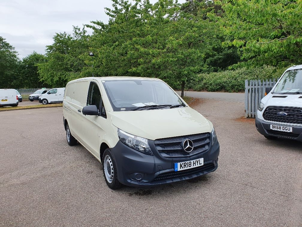 2018 Mercedes-Benz Vito 111Cdi Van (KR18HYL)
