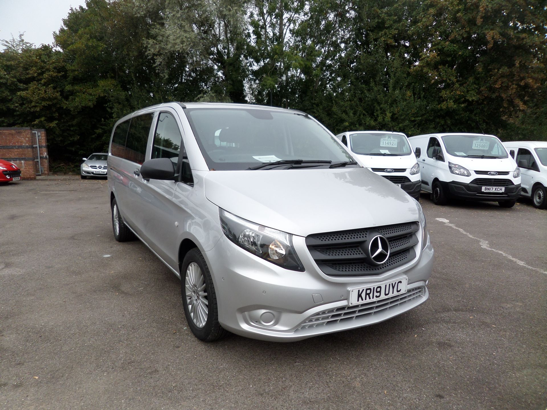 2019 Mercedes-Benz Vito 119 Cdi Select 9-Seater 7G-Tronic Euro 6 (KR19UYC)