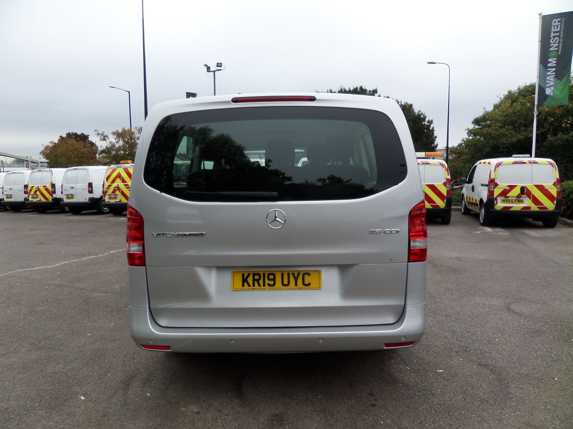 2019 Mercedes-Benz Vito 119 Cdi Select 9-Seater 7G-Tronic Euro 6 (KR19UYC) Image 4