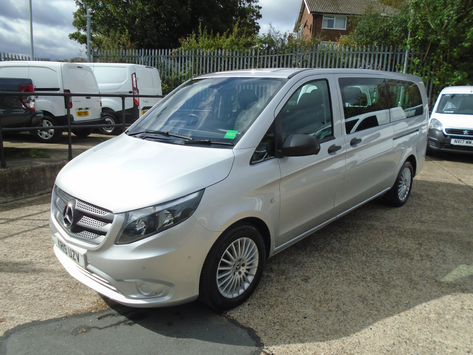 2019 Mercedes-Benz Vito 119 Cdi Select 8-Seater 7G-Tronic EURO 6 (KR19UZV) Image 3