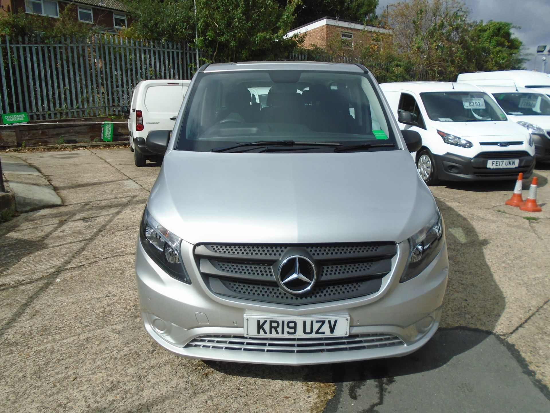 2019 Mercedes-Benz Vito 119 Cdi Select 8-Seater 7G-Tronic EURO 6 (KR19UZV) Image 2