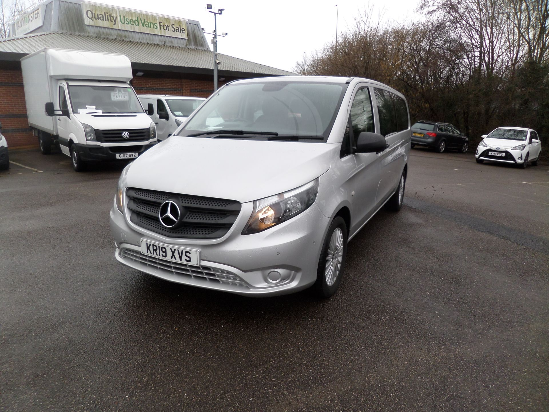 2019 Mercedes-Benz Vito 119 Cdi Select 8-Seater 7G-Tronic EURO 6 (KR19XVS) Image 9