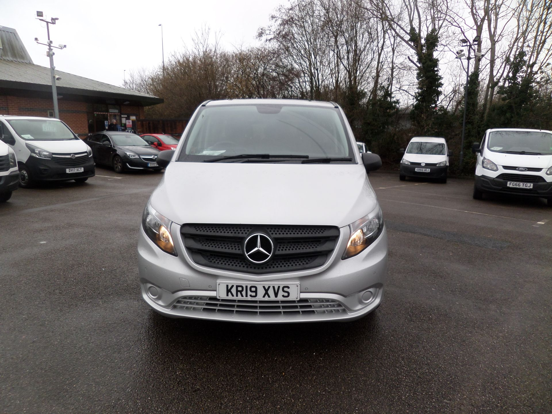 2019 Mercedes-Benz Vito 119 Cdi Select 8-Seater 7G-Tronic EURO 6 (KR19XVS) Image 10
