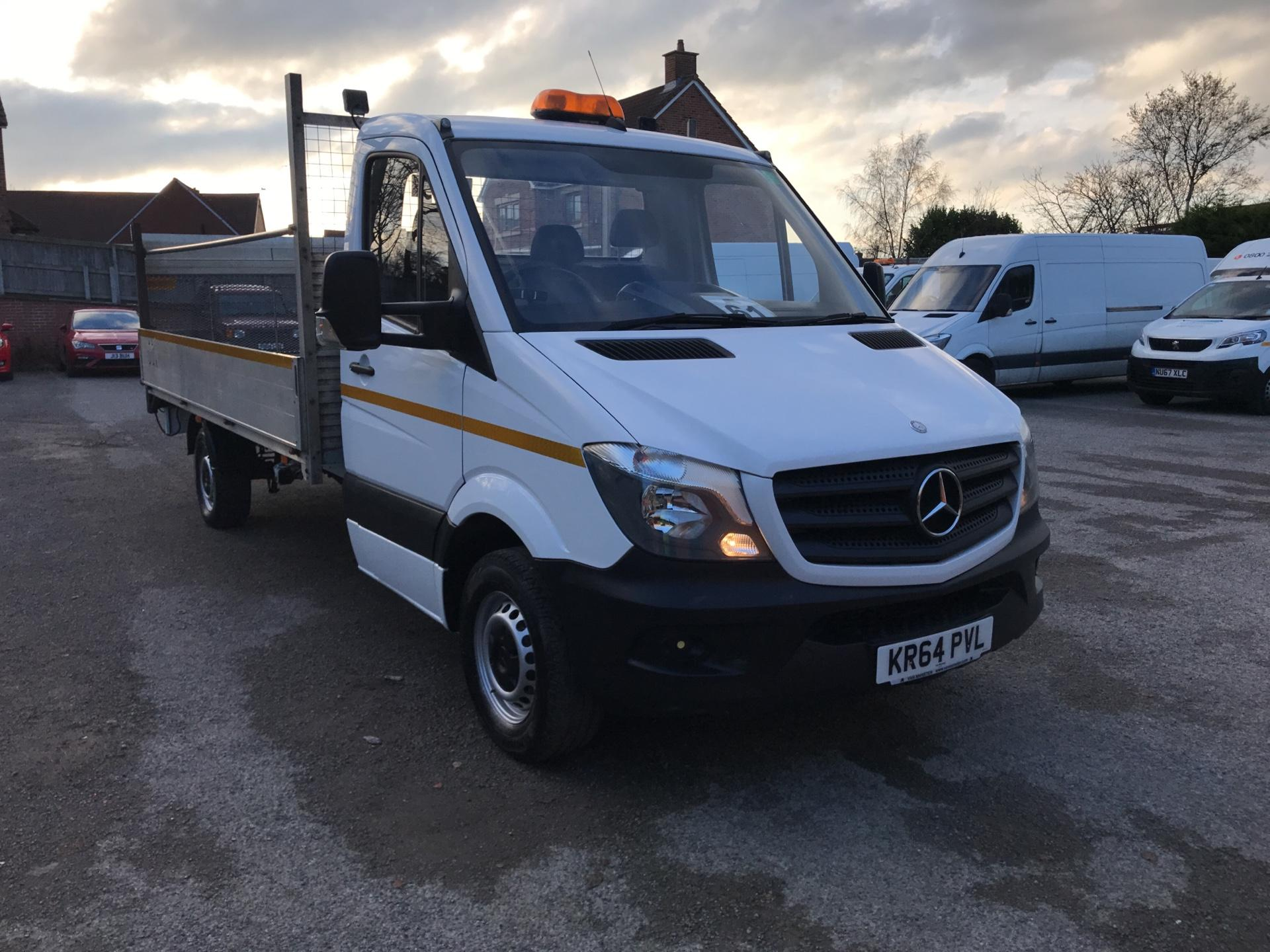 2015 Mercedes-Benz Sprinter 313 CDI LWB  DROPSIDE  EURO 5 Tail Lift *VALUE RANGE VEHICLE CONDITION REFLECTED IN PRICE* (KR64PVL)