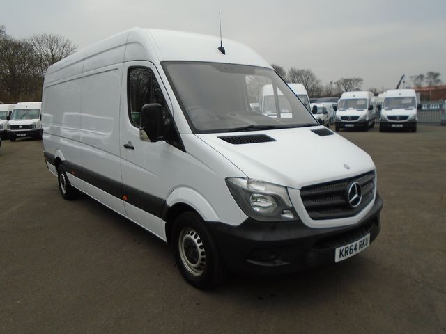 2014 Mercedes-Benz Sprinter 313 CDI LWB 3.5t High Roof Van (KR64RKU)