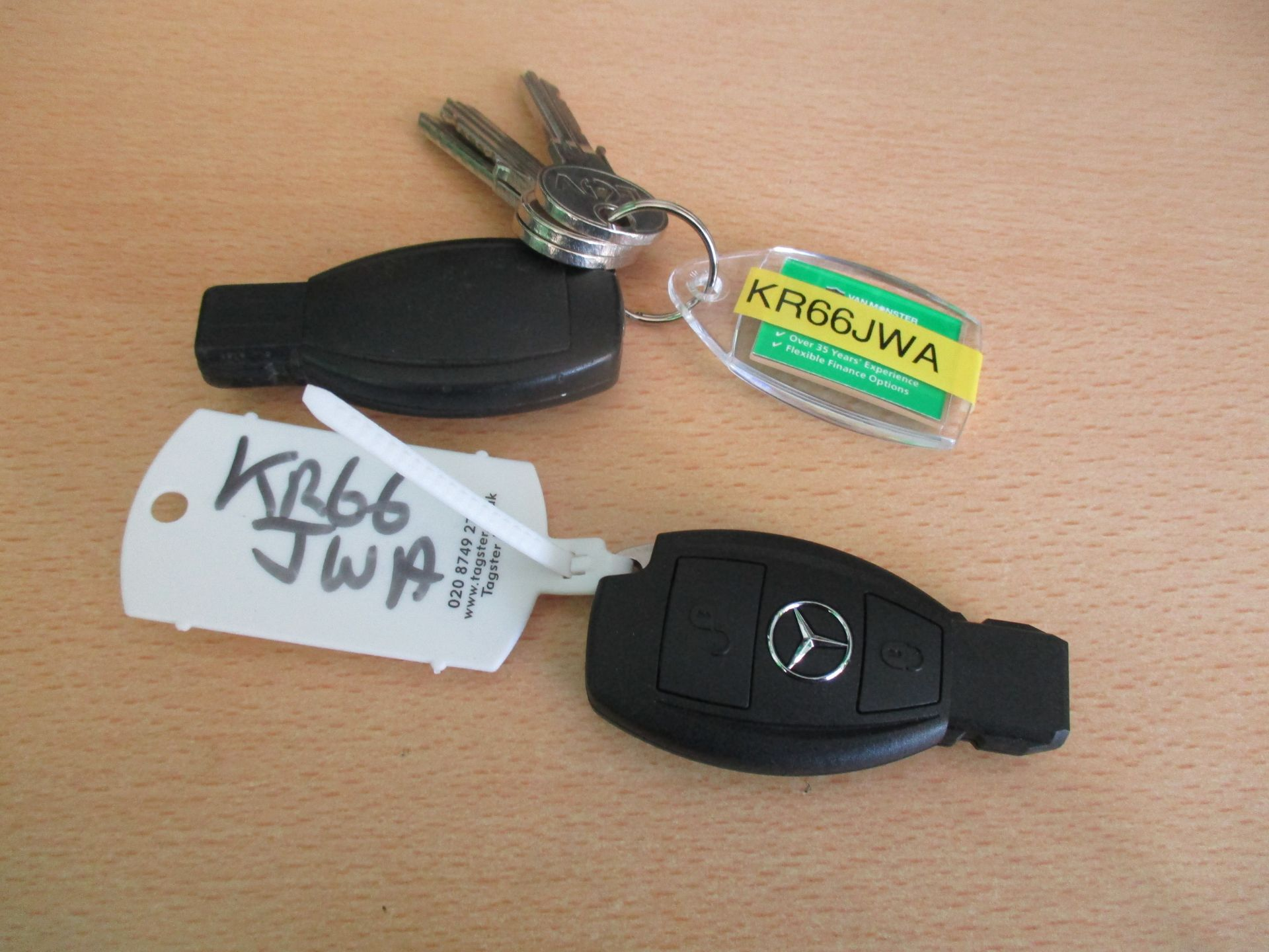 2016 Mercedes-Benz Sprinter 314 LWB H/R VAN EURO 6 (KR66JWA) Image 23