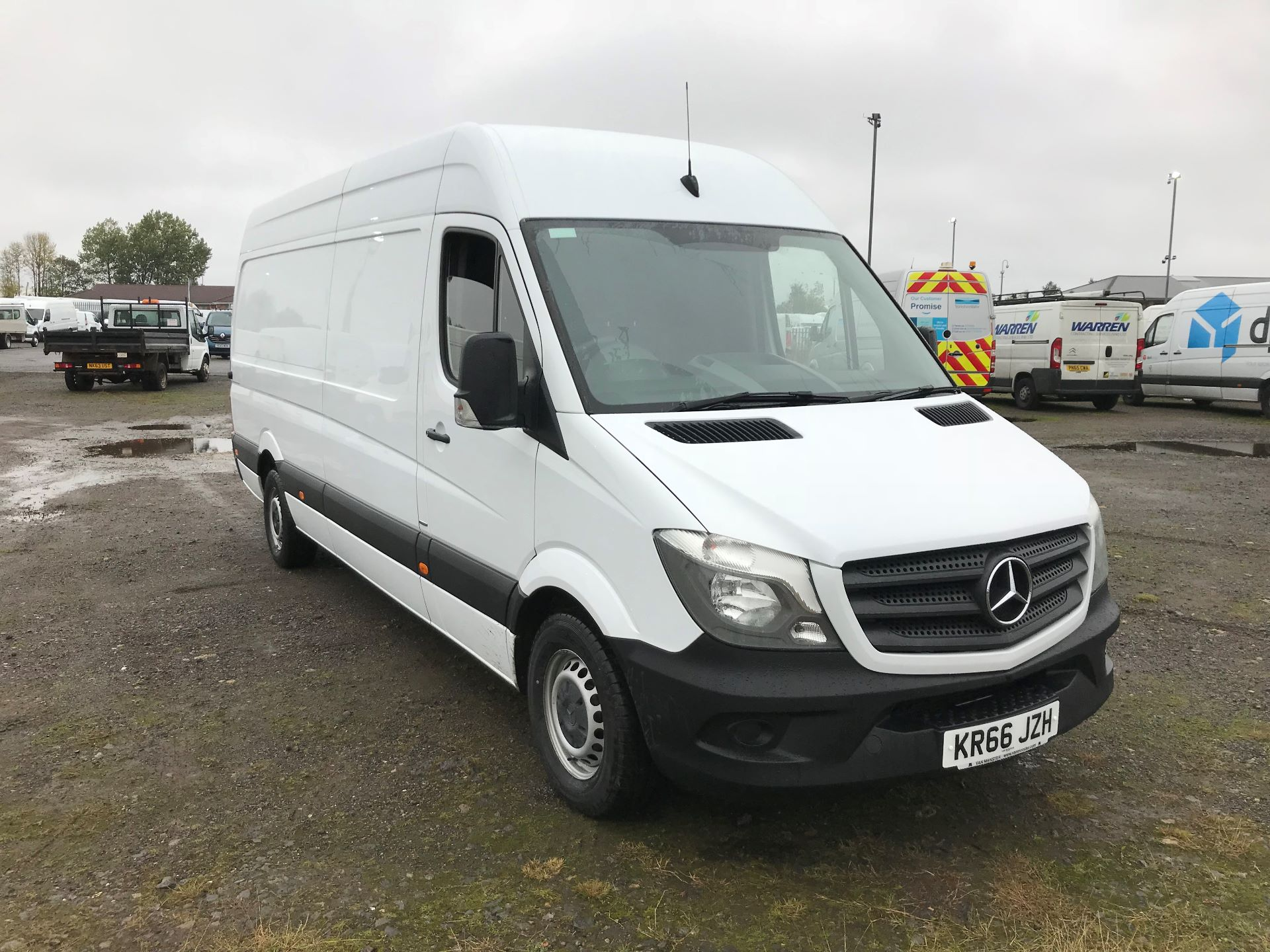 2016 Mercedes-Benz Sprinter 3.5T High Roof Van (KR66JZH)