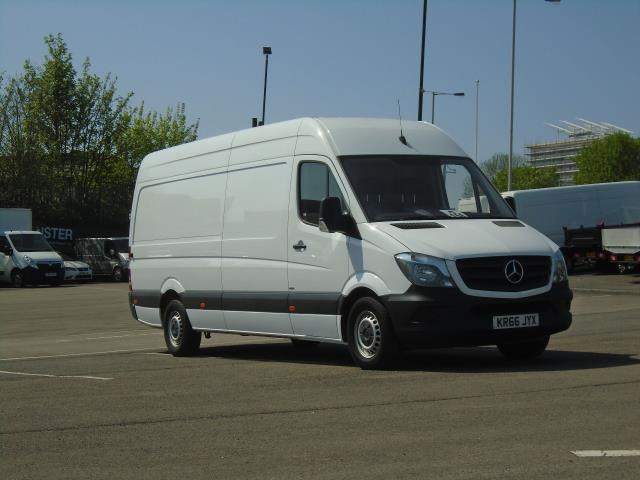 2016 Mercedes-Benz Sprinter 314cdi LWB High Roof Van (KR66JYX)