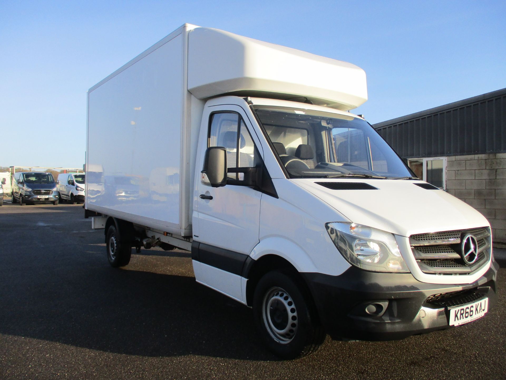 2016 Mercedes-Benz Sprinter 314 LWB LUTON EURO 6. TAIL LIFT (KR66KAJ)