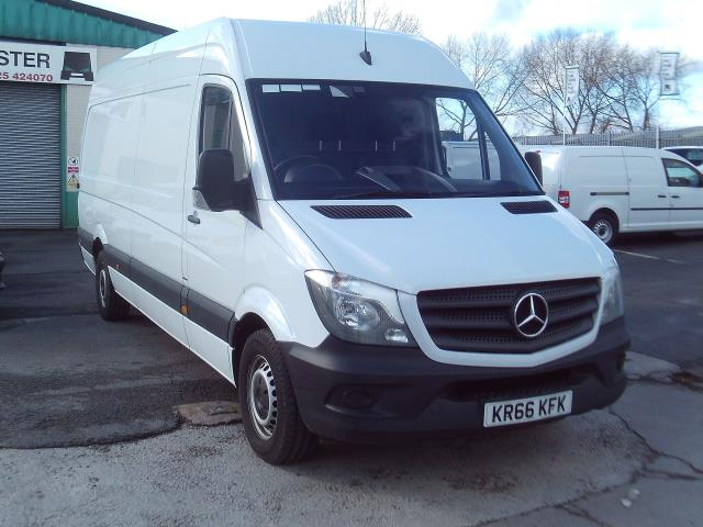 2016 Mercedes-Benz Sprinter 314cdi lwb High Roof 140ps New Shape (KR66KFK)