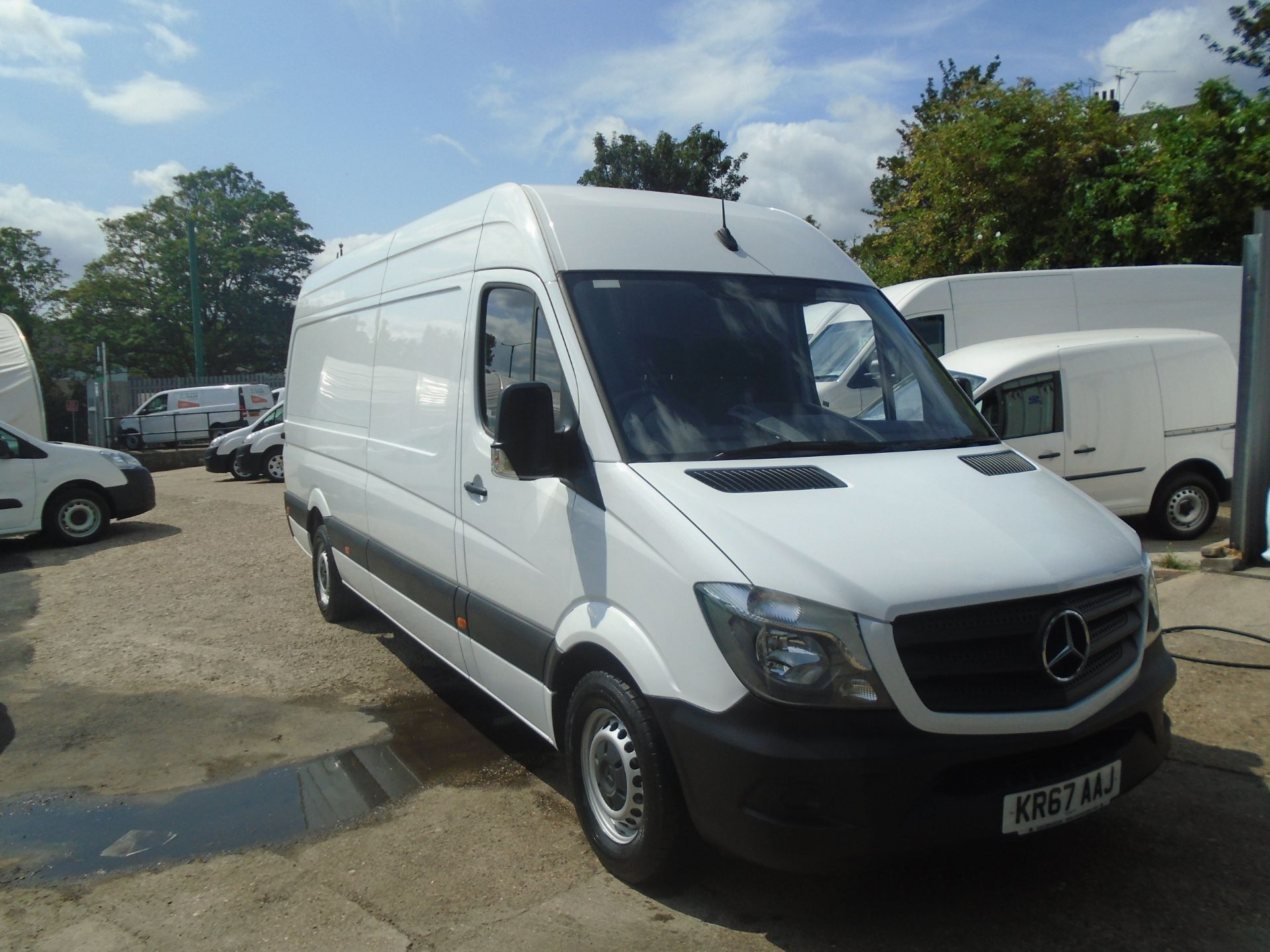 2017 Mercedes-Benz Sprinter 3.5T High Roof Van (KR67AAJ)