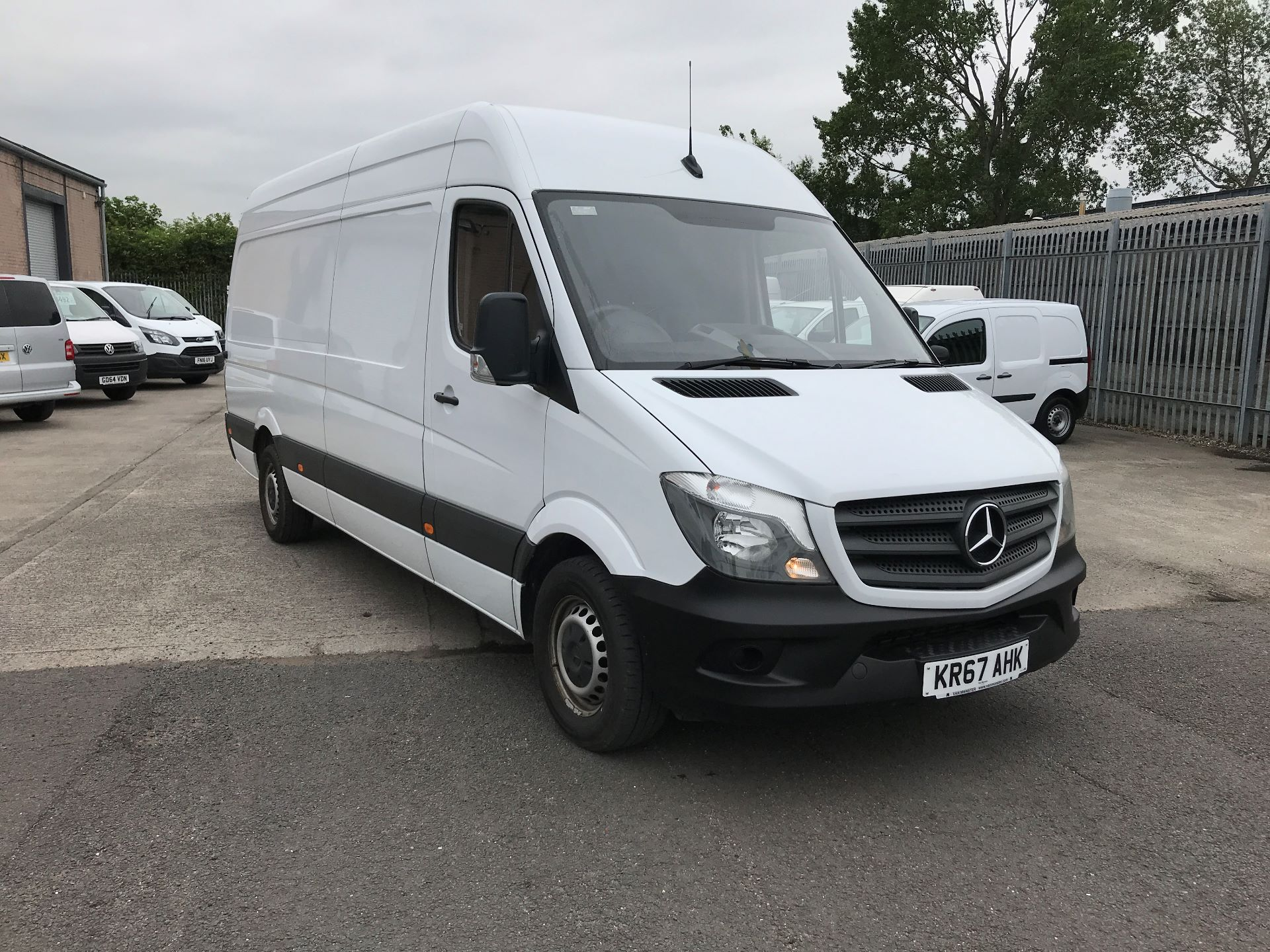2017 Mercedes-Benz Sprinter 314CDI LWB HIGH ROOF 140PS EURO 6 (KR67AHK)