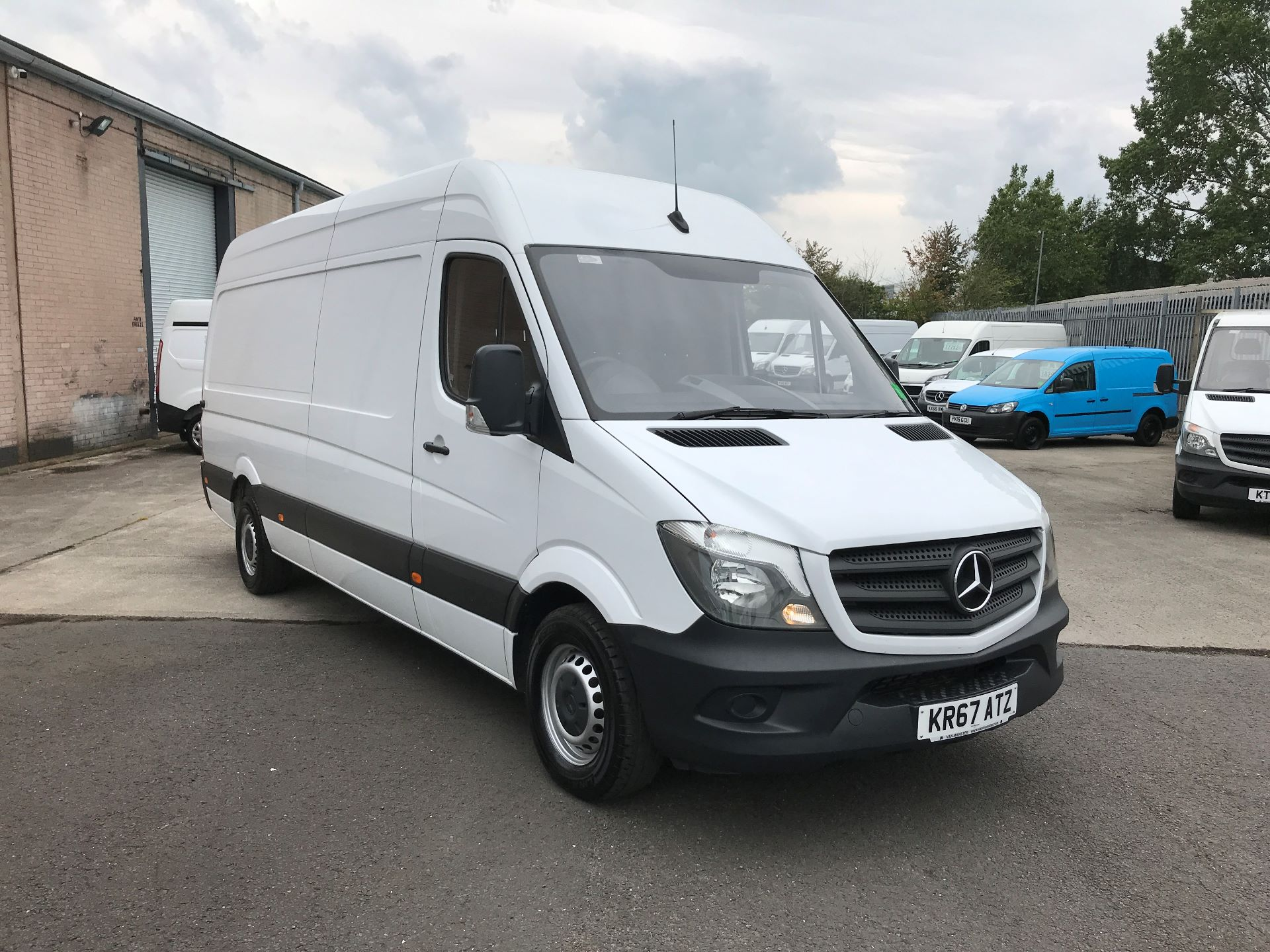 2017 Mercedes-Benz Sprinter 314CDI LWB HIGH ROOF 140PS EURO 6 (KR67ATZ)