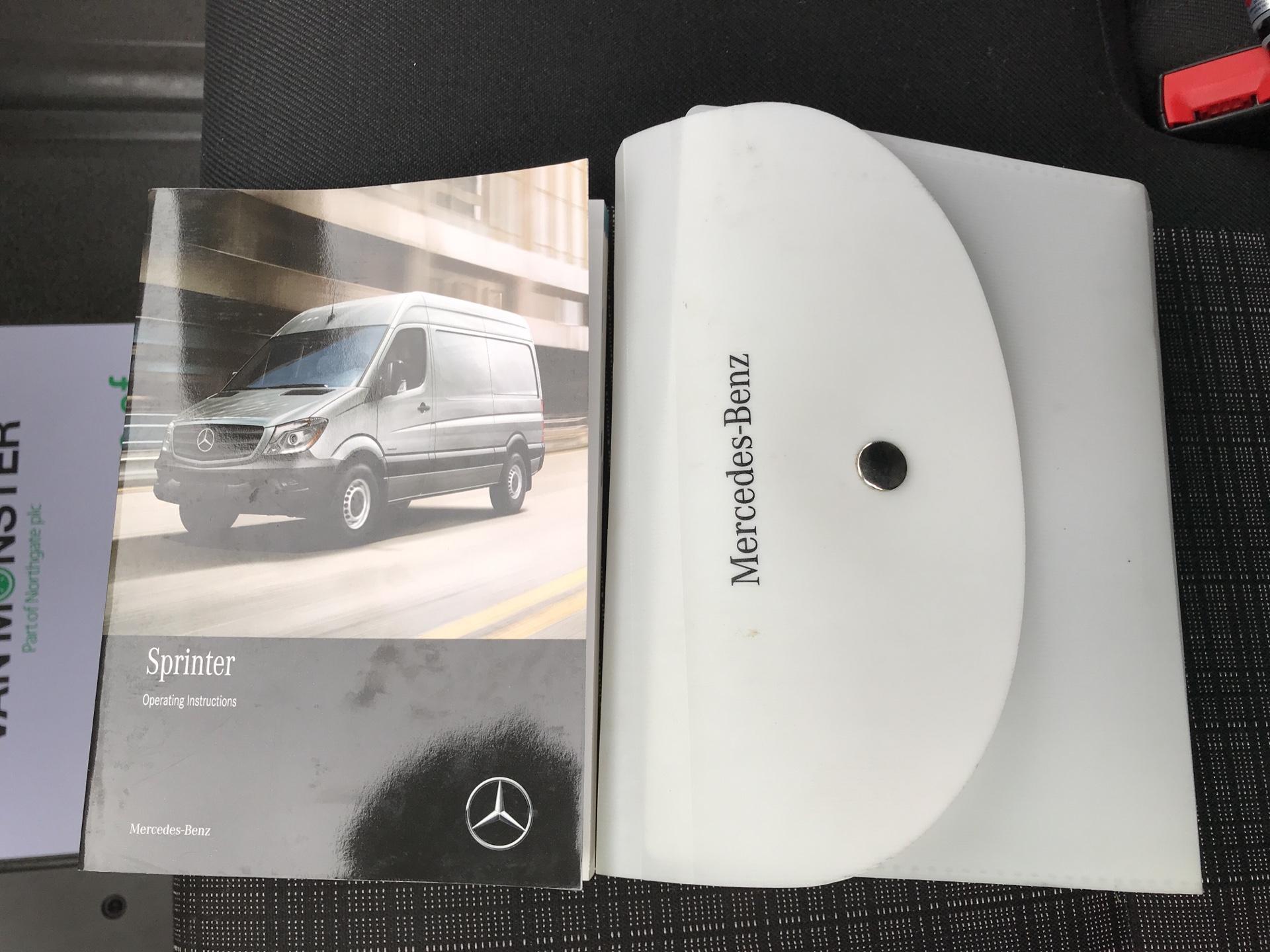 2017 Mercedes-Benz Sprinter 314 CDI LWB HIGH ROOF VAN EURO 6 (KR67AUM) Image 18